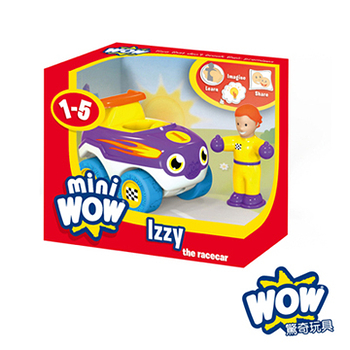 英國【WOW Toys 驚奇玩具】隨身迷你車-流星賽車 伊絲