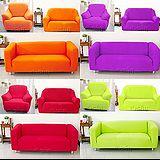 【Osun】一體成型防蹣彈性沙發套、沙發罩素色款(六素色款 1+2+3人座)