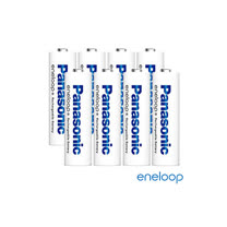 Panasonic國際牌eneloop低自放充電電池組(3號8入)