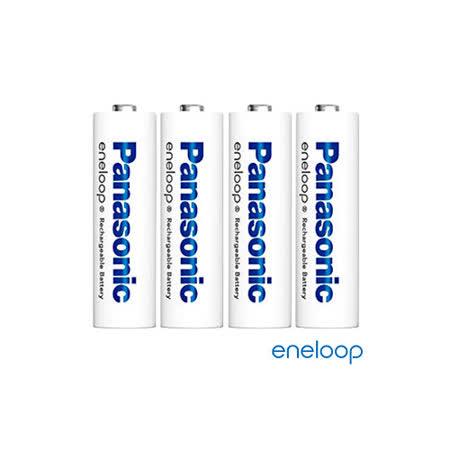 Panasonic國際牌eneloop低自放充電電池組(4號4入)