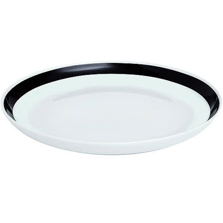 《KAHLER》Omaggio餐盤(黑)