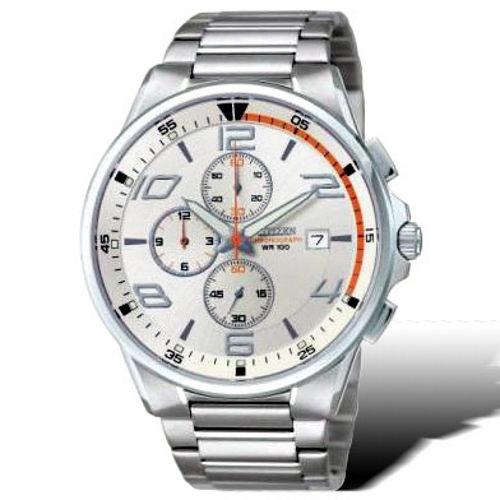 CITIZEN OXY系列 科技新貴運動腕錶(白)