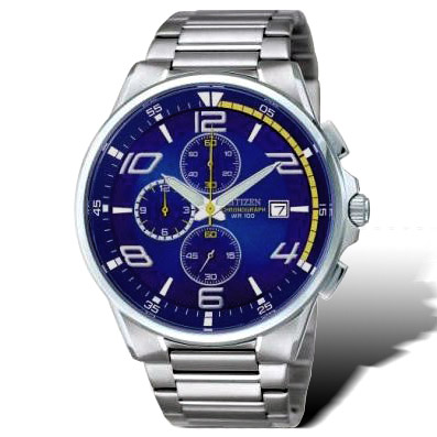 CITIZEN OXY系列 科技新貴運動腕錶(藍)