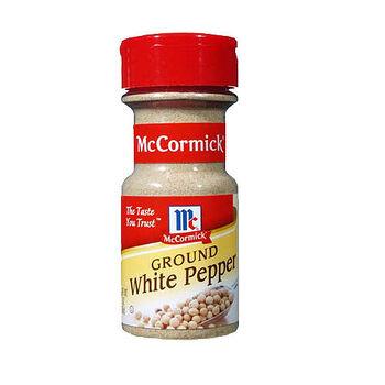 味好美McCormick研磨式白胡椒粉56g