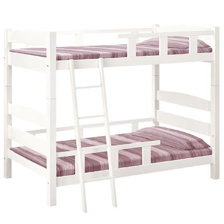 HAPPYHOME 菲妮拉3.5尺雙層床192-1(不含床墊-含床架)