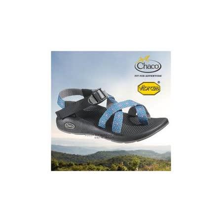 【美國 Chaco】女款 冒險旅遊織帶運動涼鞋/戶外拖鞋.溯溪.海灘鞋/ CH-VYW02HA14(水晶藍)