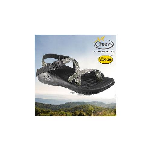 【美國 Chaco】男款 冒險旅遊運動涼鞋/戶外拖鞋.溯溪.海灘鞋 / CH-VYM02HA36(電波)