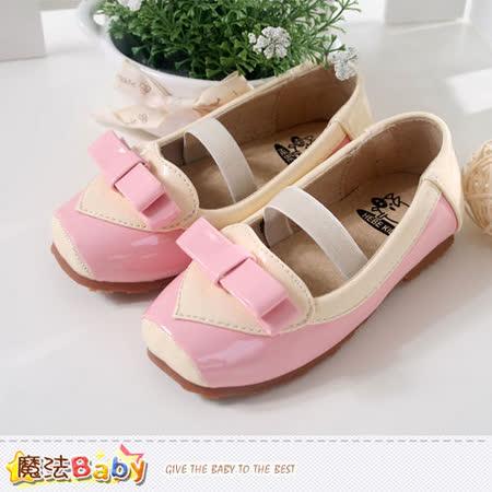(購物車)魔法Baby~氣質蝴蝶結造型娃娃鞋~sh3607