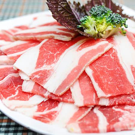【好神】美國頂級牛五花火烤兩用肉片單包組0.2cm(約200g/包)任選
