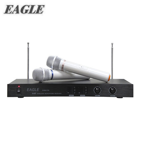 EAGLE 專業雙頻無線麥克風組(EWM-P28) 送Amida洗髮精400ml