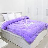 【素雅】頂級刷毛暖暖厚毯被(#004)