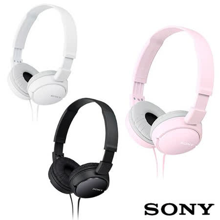 SONY MDR-ZX110 立體聲耳罩式耳機
