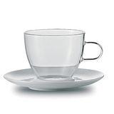 JENAER GLAS 咖啡杯含瓷碟2入