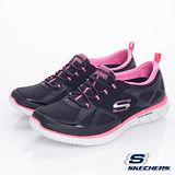 SKECHERS (女) 流行運動鞋 滑翔機 山貓-22704BKHP
