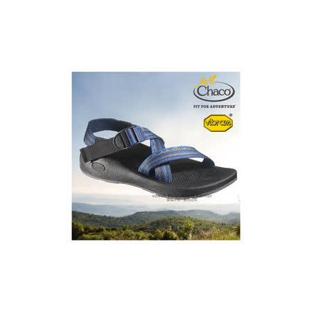 【美國 Chaco】男款 冒險旅遊涼鞋/戶外拖鞋.溯溪.海灘鞋/ CH-VYM01HA30(山脈藍)