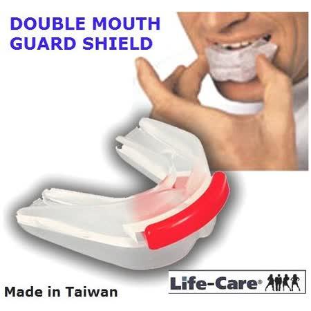 10週年特賣 外銷歐美之防磨牙.大眾運動/雙層軟式護牙套(2牙套)限量30組