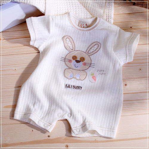 ^( 車^)魔法Baby^~Baby Bunny兔貼布繡短袖連身包屁衣^~k03256