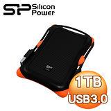 Silicon Power 廣穎 Armor A30 1TB USB3.0 2.5吋行動硬碟《沉穩黑》