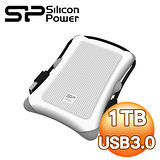 Silicon Power 廣穎 Armor A30 1TB USB3.0 2.5吋行動硬碟《無暇白》