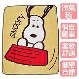 《SNOOPY》可愛大頭刷毛毯(2入)