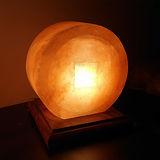 【Naluxe】義大利設計水晶鹽燈-金通寶