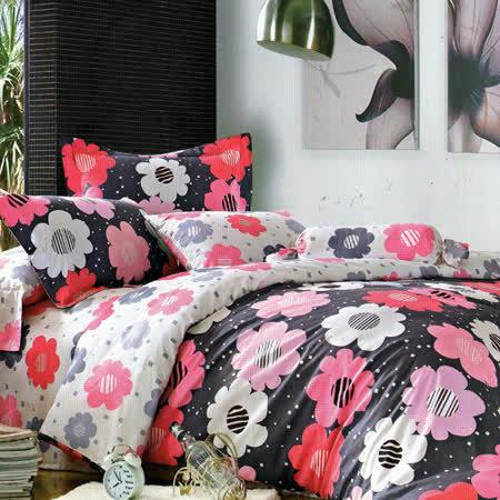 《愛君如夢》特大四件式舖棉兩用被床包組