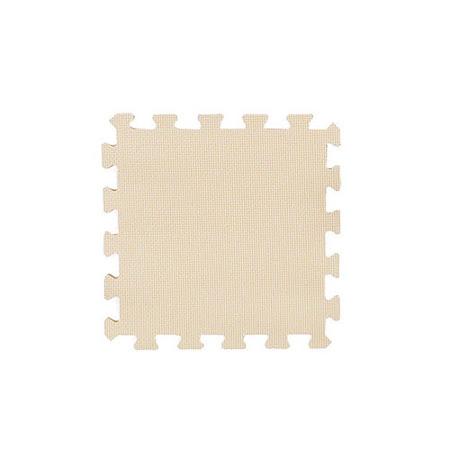 【新生活家】EVA抗菌地墊32x32x1cm - 和風米/30入