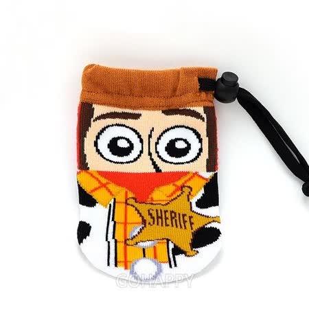 日本進口Disney.Pixar【可愛胡迪】萬用手機袋