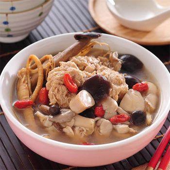 熱炒99 人蔘野菇燉雞湯 (600g/份)(任選館)