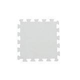【新生活家】EVA抗菌地墊32x32x1cm - 天使白/30入