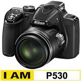 Nikon COOLPIX P530 42倍高望遠變焦機(公司貨)-加送32G C10卡+原廠電池(含標配共兩顆)+專用座充(附車充)+相機包+中腳架+HDMI+清保組+讀卡機+桌上型小腳架