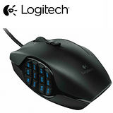 Logitech羅技 G600 MMO 遊戲滑鼠 20個按鍵/內建記憶體