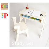 《C&B》na-KIDS Picc's快樂兒童學習桌椅組