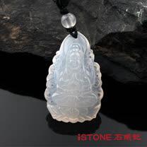 石頭記千手觀音菩薩項鍊-白玉髓(生肖鼠)