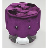 Bernice - 絨布360度旋轉椅 - 4色可選