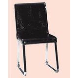Homer鱷皮餐椅496-14(黑)