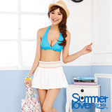 【SUMMERLOVE 夏之戀】歐洲風三件式泳衣S13789