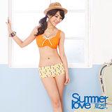 【SUMMERLOVE 夏之戀】糖果甜心二件式泳衣S13791