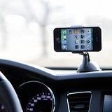 車用手機導航吸盤式支架~衛星導航/蘋果/三星/小米/HTC/SONY等多廠牌6.4吋以下手機通用