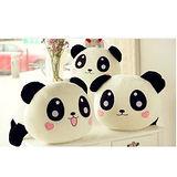【PS Mall】可愛圓仔大熊貓趴趴熊貓可愛兩色毛絨玩具(J516)