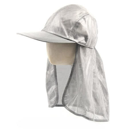 【LOKI】銀網護頸帽(釣魚也可戴)