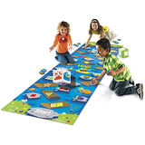 《 美國 Learning Resources 》亞馬遜河鱷魚跳-地板遊戲
