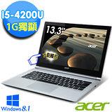 Acer S3-392G 13.3吋 i5-4200U GT735M 1G獨顯 500G+16GSSD 超輕薄觸控Ultrabook(S3-392G-54206G50tws01)