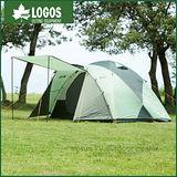 【日本 LOGOS】270-L金牌鋁合金4~5人帳篷.六人露營帳篷/ LG71801783