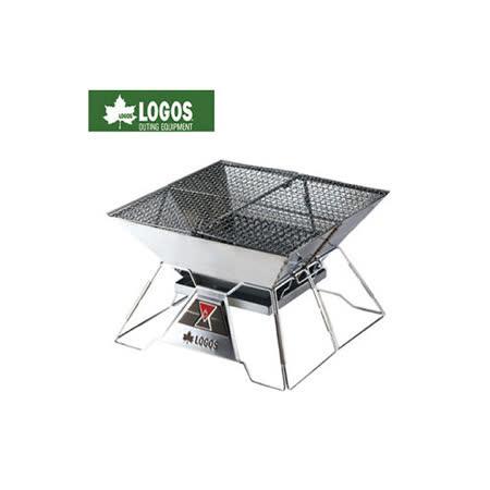 【日本LOGOS】紅標焚火台 EVO-L /烤肉爐/燒烤爐具