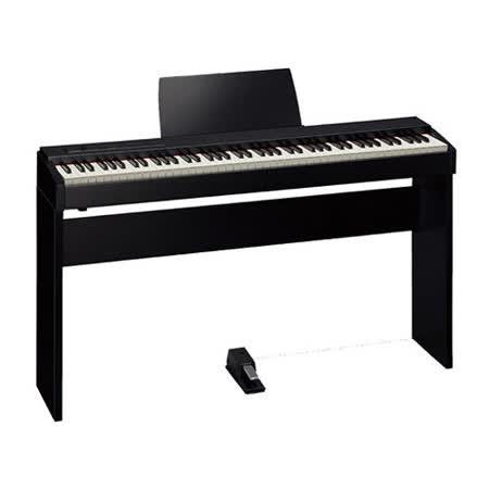 【Roland 樂蘭】F-20 88鍵數位鋼琴 / 含琴架.琴椅.延音踏 / 贈耳機.清潔組 黑色