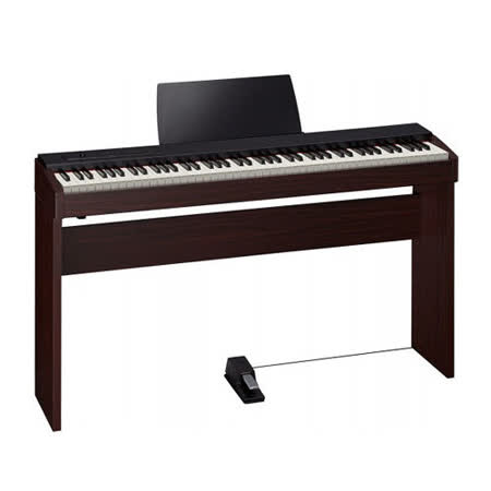 【Roland 樂蘭】F-20 88鍵數位鋼琴 / 含琴架.琴椅.延音踏 / 贈耳機.清潔組 胡桃色