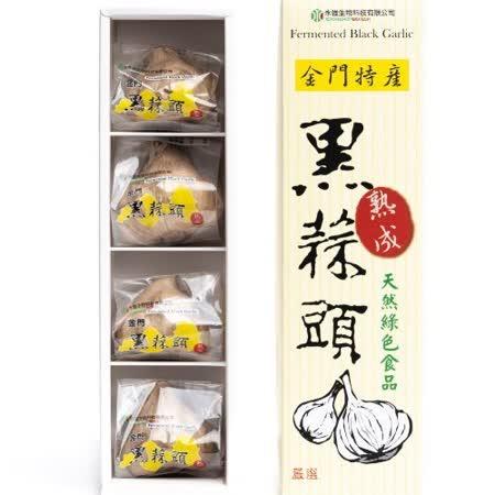 【任選】金門 黑蒜頭禮盒(L / 4顆入)