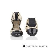BUTTERFLY TWISTS - KATE可折疊扭轉芭蕾舞鞋-黑圓點/粉