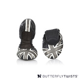 BUTTERFLY TWISTS -JACQUI 可折疊扭轉芭蕾舞鞋-黑/白/灰